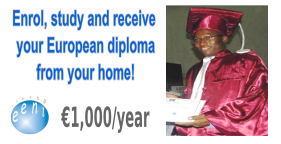 African Student, Master / Doctorate in International Business